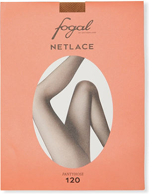 FOGAL Netlace fishnet seamless tights