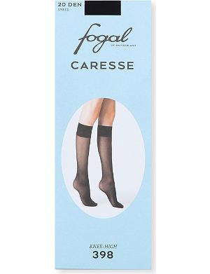 FOGAL Caresse knee-highs