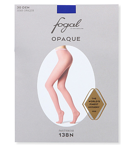 FOGAL Opaque tights (Cobalt