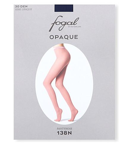 FOGAL Opaque tights (Viola