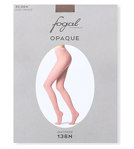 FOGAL Opaque tights (Taupe
