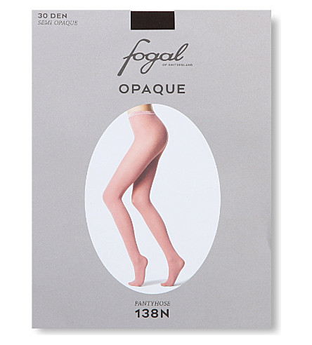 FOGAL Opaque tights (Cigar