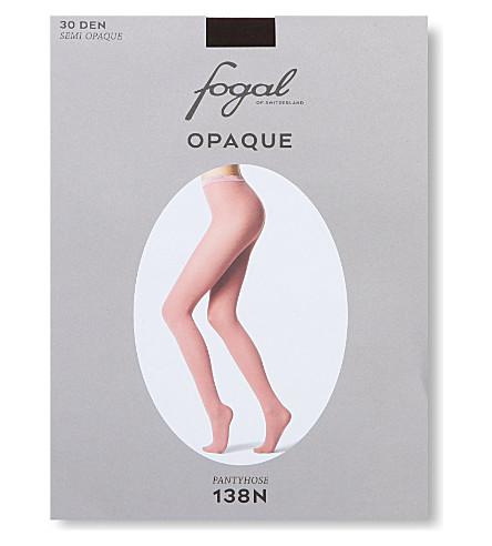 FOGAL Opaque pantyhose (Cigar