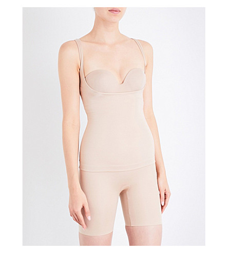 SPANX Power Conceal-Her open-bust top (Natural+glam