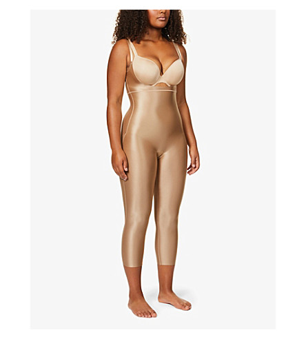 SPANX Suit Your Fancy stretch-jersey catsuit (Broadway+beige