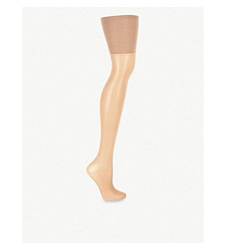 SPANX Luxe Leg high-waisted sheer tights (Nude