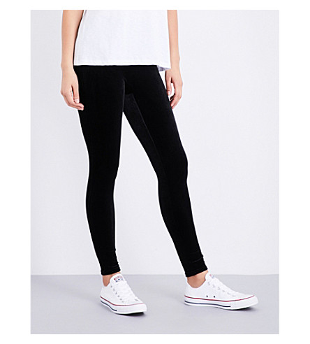 SPANX Velvet leggings (Black