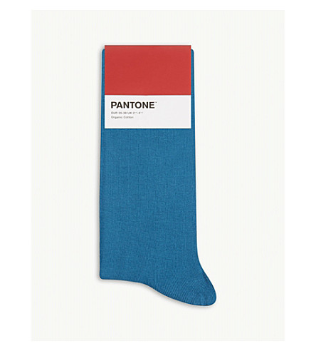 socks blend PANTONE logo Cotton Petrol logo socks Cotton Petrol blend PANTONE wOzqAU6w