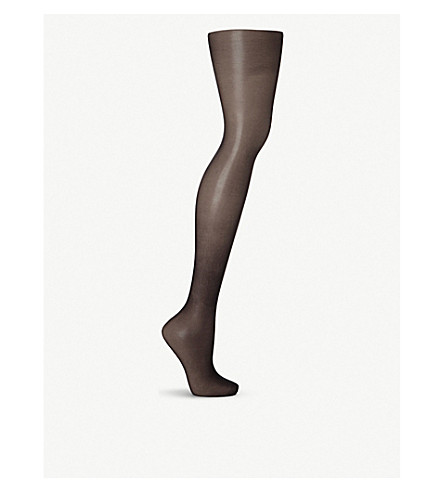 WOLFORD Nude 8 tights (Black