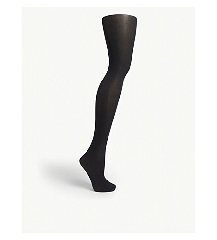 WOLFORD Velvet de Luxe opaque tights (Admiral