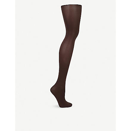 WOLFORD Velvet de Luxe opaque tights (Anthracite