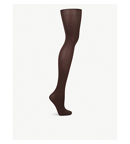 WOLFORD Velvet de luxe 50 nylon-blend tights (Anthracite