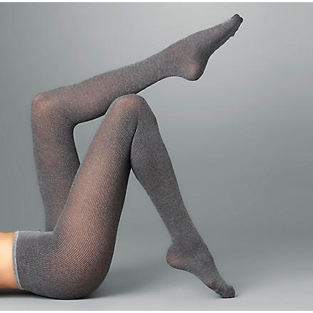 WOLFORD Winter soft logic tights (Black-chine