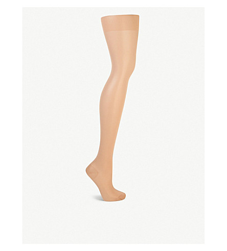 WOLFORD Miss W leg support tights (Gobi