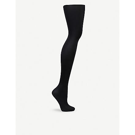 WOLFORD Satin De Luxe tights (Black