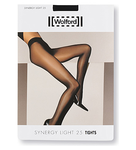 WOLFORD Synergy light 25 tights (Black