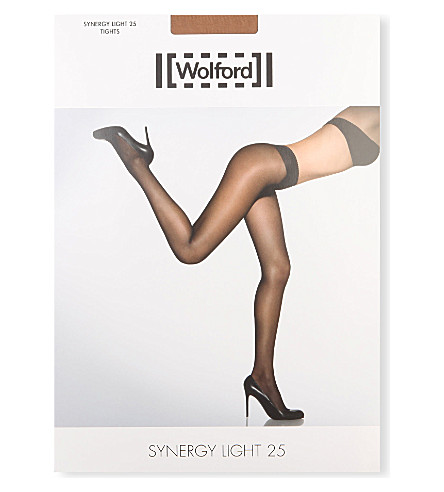 WOLFORD Synergy light 25 tights (Cara: caramel