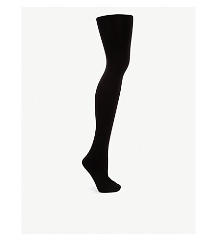 WOLFORD Velvet Sensation tights (Black