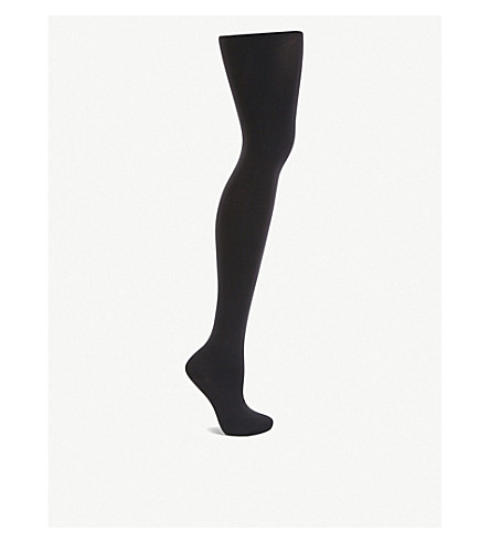 WOLFORD Velvet 66 leg support tights (Black