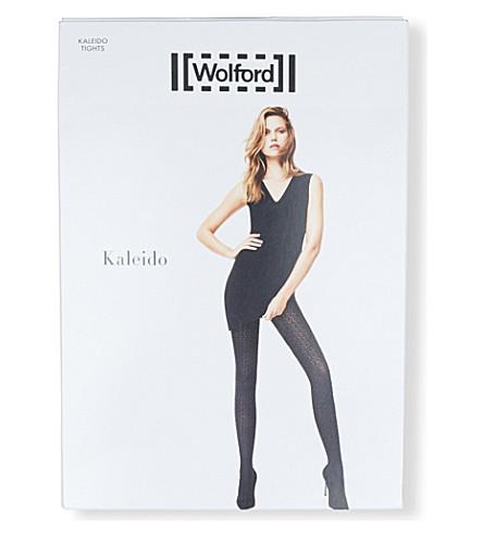 WOLFORD Kaleido tights (Black