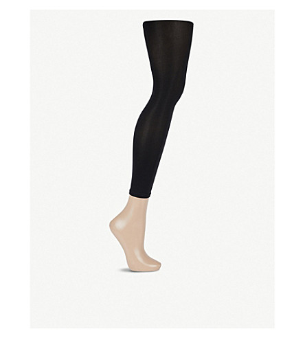 WOLFORD Velvet 66 Capri leggings (Black