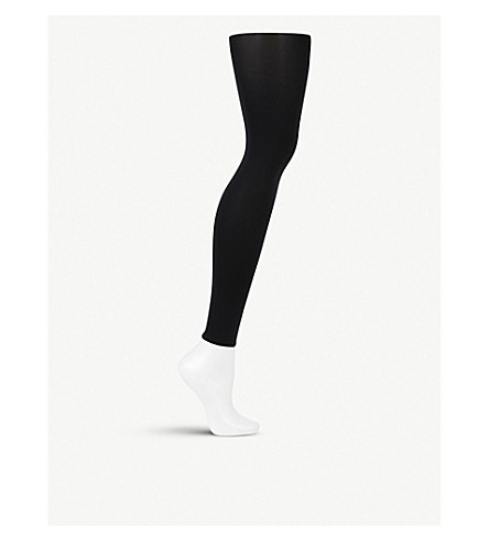 WOLFORD Velvet de luxe leggings (Black