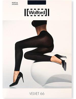 WOLFORD Velvet de luxe leggings