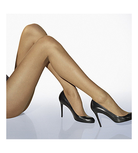 WOLFORD Luxe 9 tights (Marzipan
