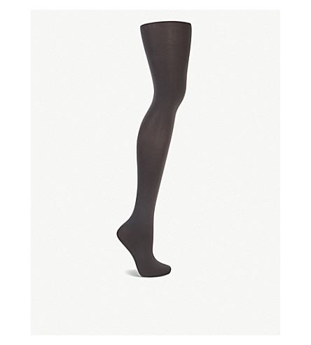 WOLFORD Velvet de luxe 66 denier tights (Anthracite