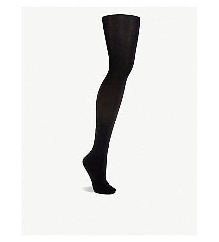 WOLFORD Velvet de luxe 66 denier tights (Black