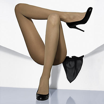WOLFORD Matt transparent tights (Sand