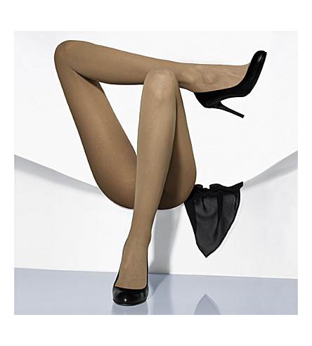 WOLFORD Matte transparent tights (Sand