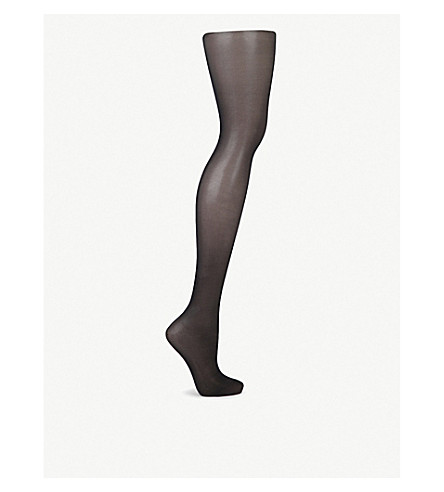 WOLFORD Satin touch 20 nylon-blend tights (Black