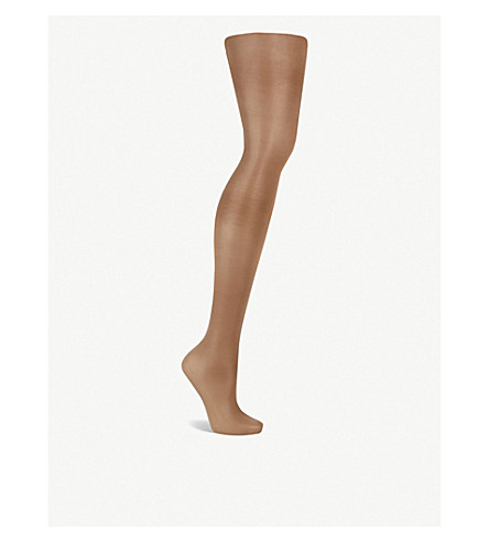 WOLFORD Satin touch 20 nylon-blend tights (Caramel