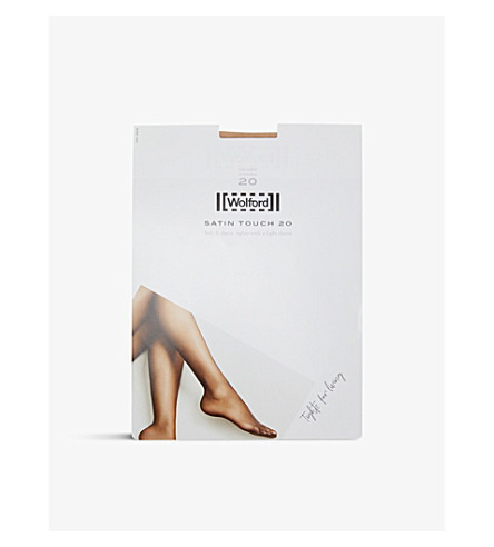 WOLFORD Satin touch 20 nylon-blend tights (Cosmetic