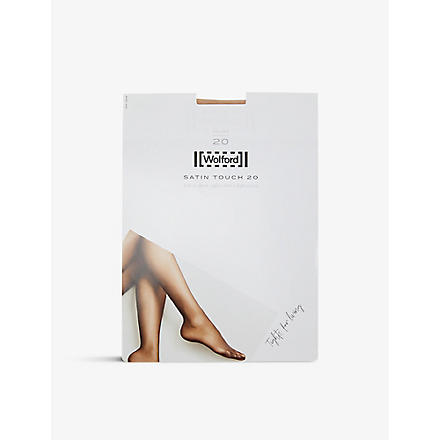 WOLFORD Satin Touch 20 tights (Black