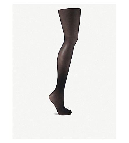 WOLFORD Individual 10 nylon-blend tights (Admiral