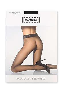 WOLFORD Fatal Lace tights