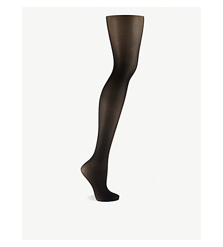 WOLFORD Tummy control top tights (Black