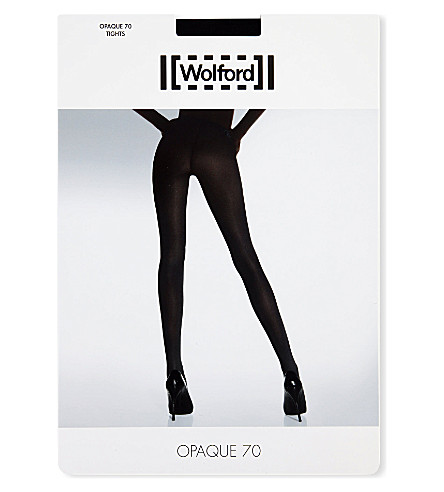 WOLFORD Wolford opaque 70 tights (Black