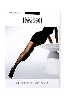 WOLFORD Individual 10 back-seam tights