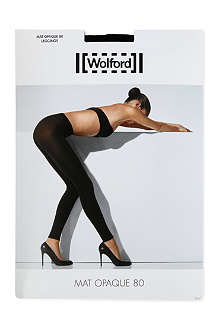 WOLFORD Matt opaque leggings