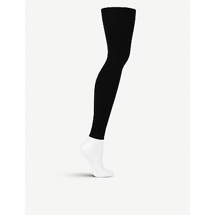 WOLFORD Velvet 100 leg support leggings (Black