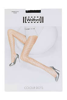 WOLFORD Colour Dot tights