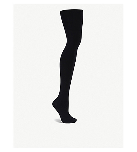 WOLFORD Opaque individual 100 tights (Black