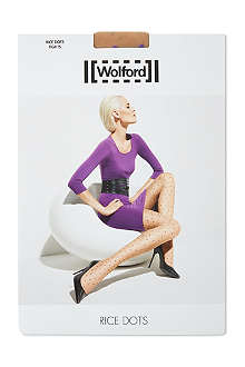 WOLFORD Rice dots tights