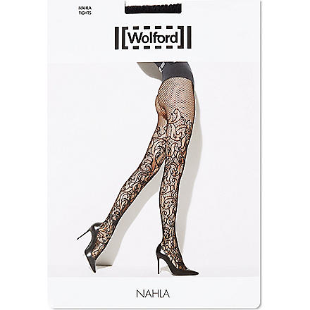 WOLFORD Nahla tights (Black
