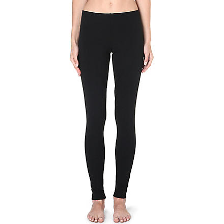 WOLFORD Jersey leggings (Black