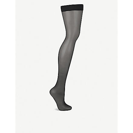 WOLFORD Naked 8 hold–ups (Black