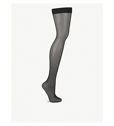 WOLFORD Naked 8 hold-ups (Black